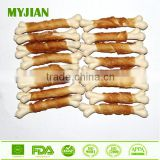Dental Sticks Chicken Wrapped Calcium Bone Pets and Dogs Food Manufacturer Dog Treats Dog Chews