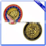 High quality antique gold metal collective replica coin