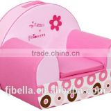 My Little Princess Cute Breathable Cotton Baby Foam Sofa Seat Cushion Couch Chair Sofa with Handle