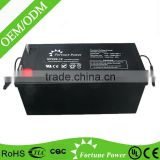 12 volt agm deep cycle acid inverter battery 200ah