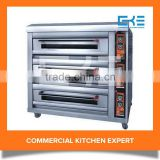 Hot Sale 3 Decks 12 Trays Commercial Oven Bakery Equipment Professional Cake Bakery Ovens For Sale