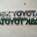 Chrome car badge, custom Chrome car emblem, ABS car sticker, car logo, chrome car nameplate