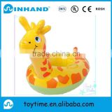 promotional PVC inflatable kids seat float louner for baby, EN71 1/2/3 inflatable water ring