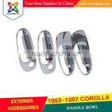 1993-1997 TOYOTA COROLLA 1997 ACCESSORIES 93 94 95 96 97 ABS CHROME DOOR HANDLE BOWL CAR ACCESSORIES