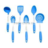 Set of 6 Silicone Kitchen Utensil Innovation Cooking Tools With 304 Stainless steel Handle