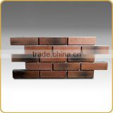 Facing brick like wall panel for indoor and outdoor wall cladding