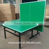 Facilities equipment table tennis OEM Green color top TT Table