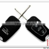 AS020012 for Hyundai I30 IX35 3 button flip folding remote key shell