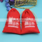 Fashionable new coming organic cotton bread pouch