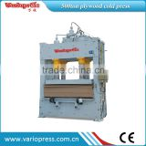 man-made board cold press/plywood /block board cold press machine