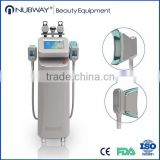 Improve Blood Circulation 26% Reduce 2 Freeze Handles Cryolipolysis Fat Freezing Machine Fat Reduction