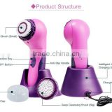 Electric shower facial body sonic cleansing brush with high quality