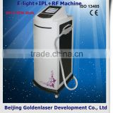 Underarm 2013 New Design E-light+IPL+RF Machine Tattooing Beauty Bikini / Armpit Hair Removal Machine Light Sheer Duet &diode Laser Depilator With High