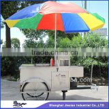 JX-HS120B Professional Factory price China mobile hot dog food cart for sale