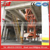 Full automatic conveyor belt cement container loading conveyor