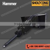 Hydraulic Hammer, Hydraulic Breaker for Skid Steer Loader, Tractor, Backhoe Loader, Wheel Loader