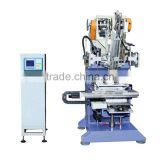 Flat Brush Drilling and Tufting Machine