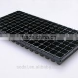 Plastic Nursery Seed Tray 128 cells garden plastic seeding nursery tray