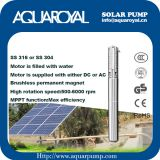 Solar Pumping Systems - Boreholes,Wells,Irrigation DC solar well pumps - 4SP5/8(Integrated Type)
