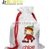 Drawstring Satin Custom Gift Bag