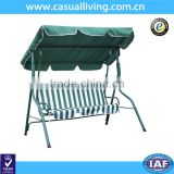 Outdoor Swing/Hammock, Green Stripe , Seats 3