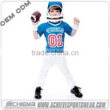 High Quality Customized American football jersey with custom size| custom boy football jersey