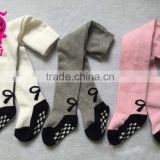 New Style baby and kids tights with Bow Custom High Quality Lovely Children Baby Tube Pantyhose