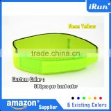 Neon Yellow Ankle Band Strap for Timing Chip - Race Running Time Chip Strap with Neoprene - Accept Custom - Ebay/Amozn Supplier
