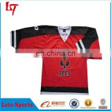 wholesale blank customized hockey jerseys reversible sublimation teamwear shirts and pants /uniforms