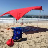 2017 Summer UV Protection Beach Tent with Sand Anchor