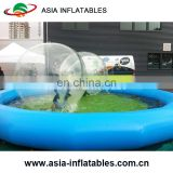 Reliable 0.9mm PVC inflatable water pool,swimming pool pump,bubble inflatable pool for children