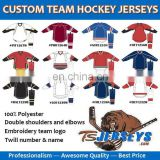 CUSTOM team hockey jersey/ custom hockey jerseys/blank hockey jerseys/practice hockey jerseys