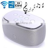 Mini NFC Blue tooth 3D Incredible Smart Speaker with MP3 Function, Support Hands-free Call / TF Card (Silver)