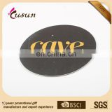 New products absorbent paper cup beer coffee coaster with custom design gold foil printing