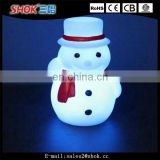 Christmas decorations outdoor led lighted plastic snowman