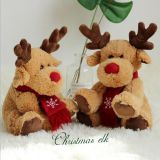 New Elk Christmas Day Plush Toys  Doll Manufacture From China