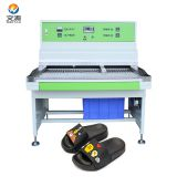 3 stations pvc slipper chappal making machine price