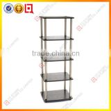 4 layers Boltless Storage Shelving Rack/MDF Shelf