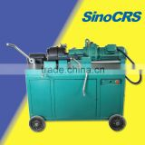 Compact rebar rib-stripped electric steel rebar srew rolling machine