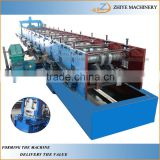 hydraulic motor drive fast speed roll forming machine C profile /c channel steel sheet punch roller former machine