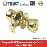 Grade 3 Safe Tubular Brass Entry front door lock