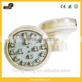 No.1-No.16 E14 5050smd rgb auto running 60mm ac24v pre-programmed IP65 amusement led lamp for helicopter
