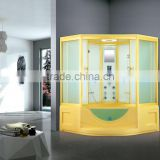 China Supplier Touch Screen Acrylic Steam Shower Room With Spa Tub K-7026B