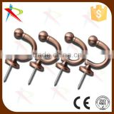 Big Ball style end cap curtain hooks / hold back export Ebay & Amazon directly                                                                                                         Supplier's Choice