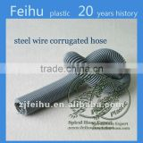black flexible steel wire corrugated steel wire hose Spring hose