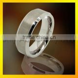 fashional design mens jewelry brushed ring tungsten with prompt dielivery paypal accepeted