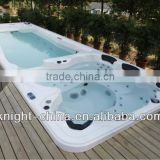 swim spa Freestanding acrylic balboa system rectangular above ground massage function swimming pool