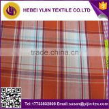 cotton check shirt fabric cotton fabric manufacturer 100% cotton yarn dyed shirting fabric