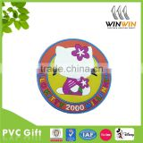 cute cat cheap PVC cup coaster for advertising