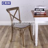 RCH-4001 Cross Back wood Chair with Cushion                                                                         Quality Choice